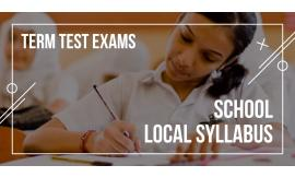 Local School Exams