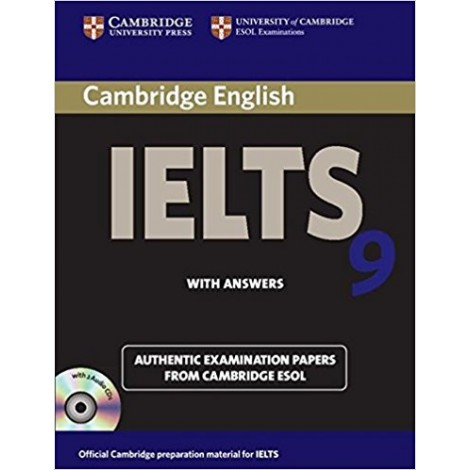 Cambridge IELTS 9 Self-study Pack (Student's Book with Answers and Audio CDs (2)): Authentic Examination Papers from Cambridge ESOL (IELTS Practice Tests)