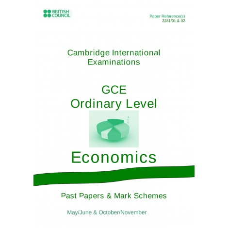 Cambridge - O Level - Past papers & mark schemes - Economics - 2281