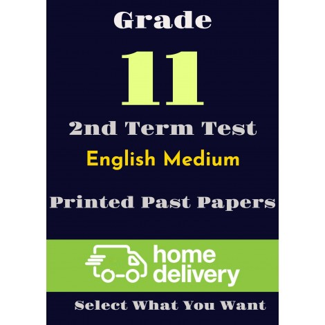 Grade 11 - 2nd Term Past Papers - English(printed)