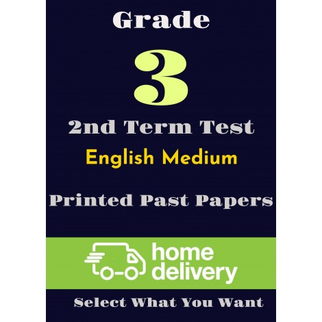 Grade 3 - 2nd Term Past Papers - English(printed)