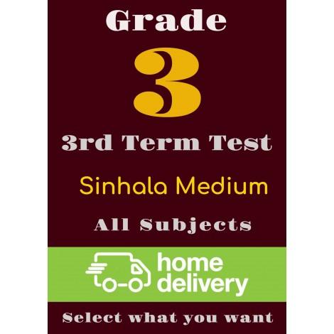 Grade 3 - 3rd Term Past Papers - Sinhala(printed)
