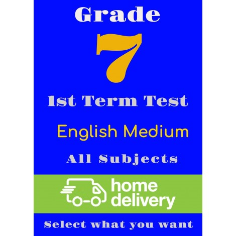 Grade 7 - 1st Term Past Papers - English (printed)