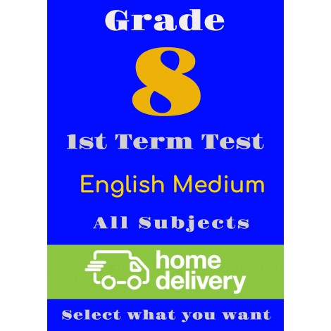 Grade 8 - 1st Term Past Papers - English (printed)