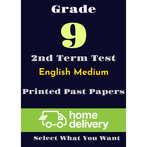 Grade 9 - 2nd Term Past Papers - English (printed)