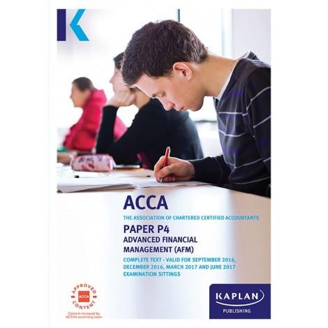 ACCA-P4 Advanced Financial Management AFM Complete Text