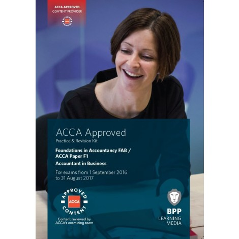 ACCA-F1 Accountant in Business/FIA FAB