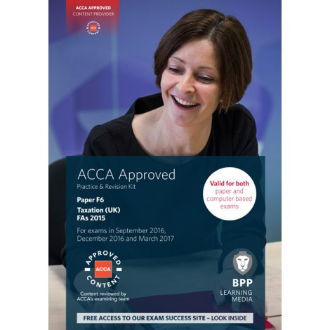 ACCA-F6 Taxation (UK) FAs 2015