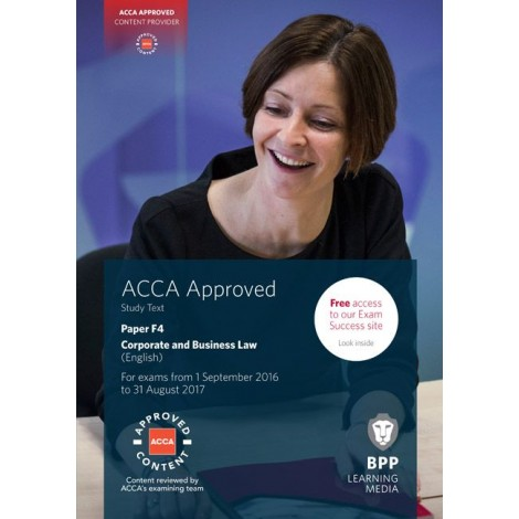 ACCA-F4 Corporate and Business Law (GLO)
