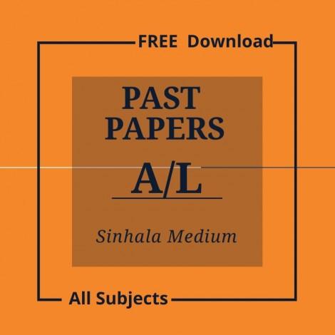 Adavced level papers-sinhala medium