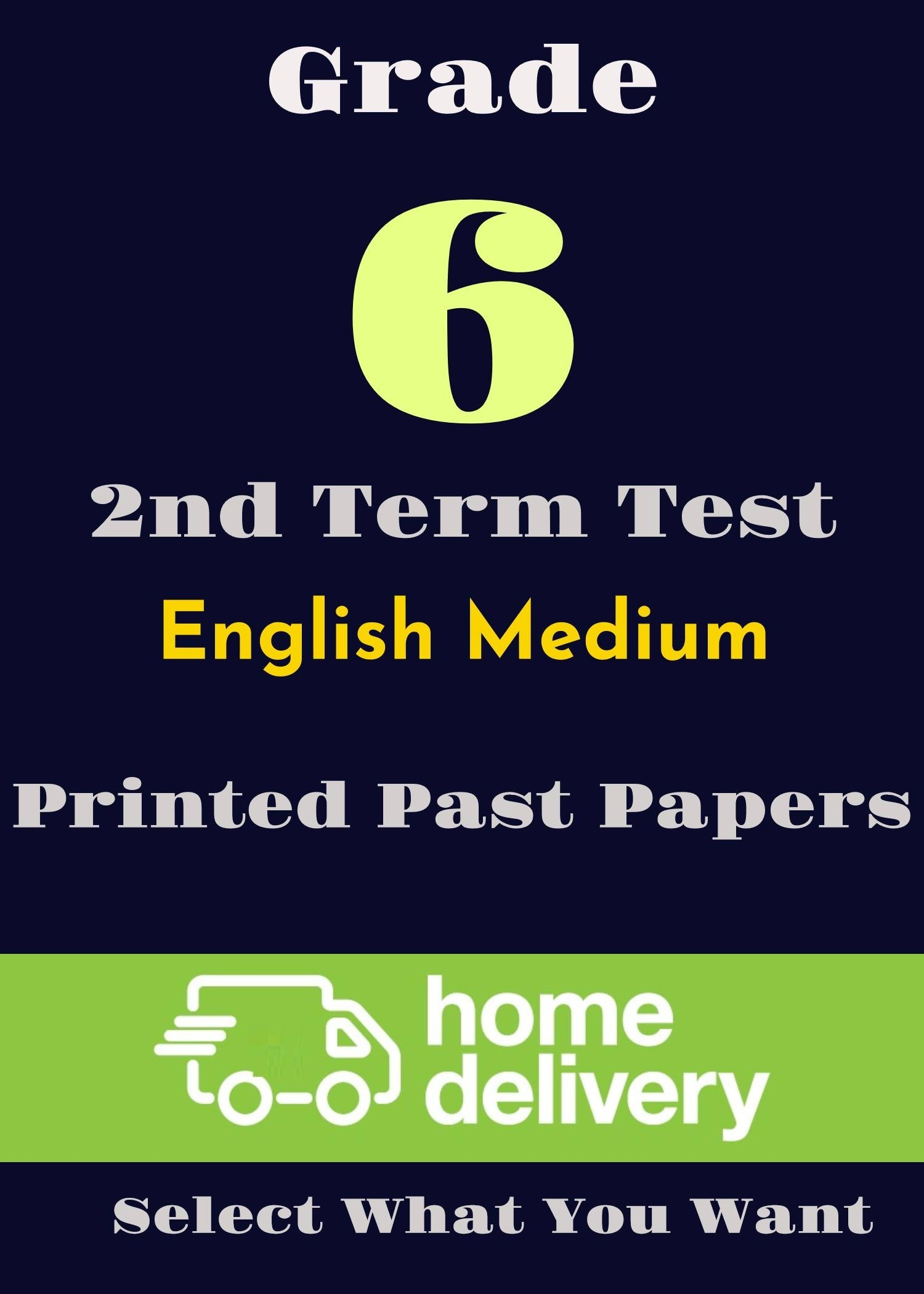 Past Term Test Papers Grade | Richmond College