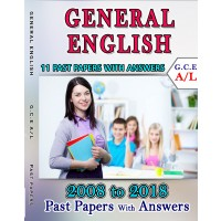 A Level Past Paper General English : 2008 - 2018