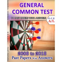 A Level Past Paper General Common Test : 2008 - 2018