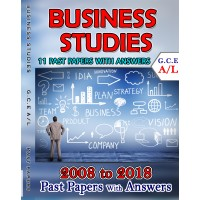 A Level Past Paper Business Studies : 2008 - 2018 (with Answers)