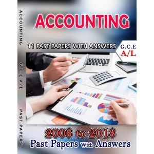 A Level Past Paper Accounting : 2008 - 2018