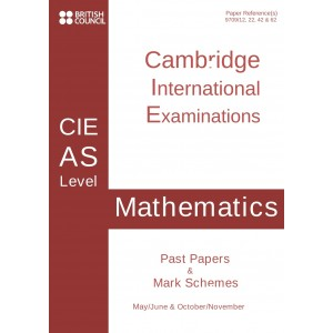 Cambridge - AS Level - Past papers & mark schemes - Mathematics - 9709