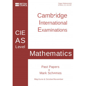Cambridge - AS Level - Past papers & mark schemes - Accounting - 9706