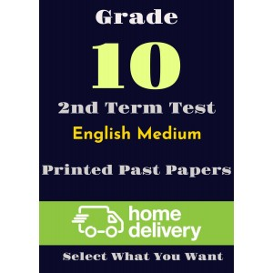 Grade 10 - 2nd Term Past Papers - English (printed)