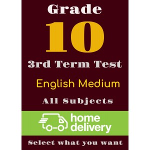 Grade 10 - 3rd Term Past Papers - English (printed)