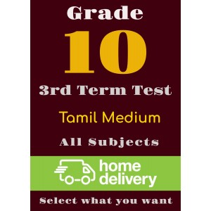 Grade 10 - 3rd Term Past Papers - Tamil (printed)