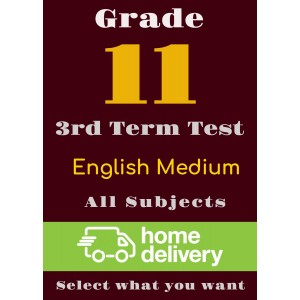 Grade 11 - 3rd Term Past Papers - English(printed)