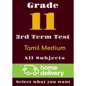 Grade 11 - 3rd Term Past Papers - Tamil (printed)