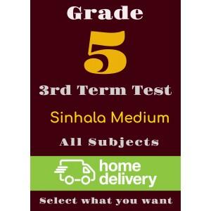 Grade 5 - 3rd Term Past Papers - Sinhala (printed)