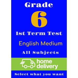 Grade 6 - 1st Term Past Papers - English (printed)
