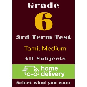 Grade 6 - 3rd Term Past Papers - Tamil (printed)