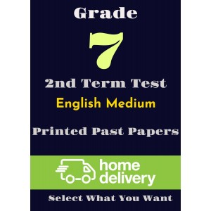 Grade 7 - 2nd Term Past Papers - English (printed)
