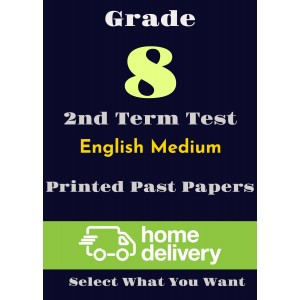 Grade 8 - 2nd Term Past Papers - English (printed)