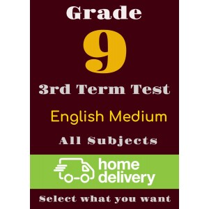 Grade 9 - 3rd Term Past Papers - English (printed)