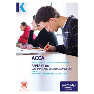 ACCA-F4 Corporate and Business Law CL (ENG) Exam Practice Kit