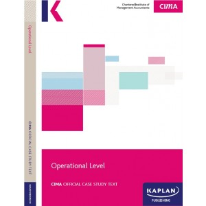 CIMA-Operational Case Study Study Text