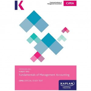 CIMA-BA2 Fundamentals of Management Accounting Study Text