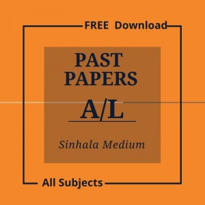 Adavced level papers-sinhala medium