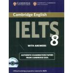 Cambridge English IELTS 8 Book with Answers and Audio CDs (2)): Official Examination Papers from University of Cambridge ESOL Examinations